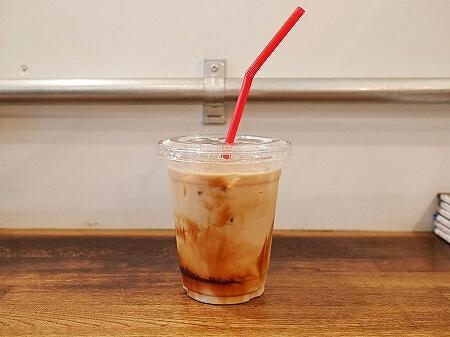 築地 おすすめカフェ ターレットコーヒー Turret COFFEE シーソルトキャラメルラテ