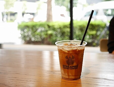ストリーマー コーヒー カンパニー ラテアート チャンピオン カフェ STREAMER COFFEE COMPANY 茅場町店 アイスラテ