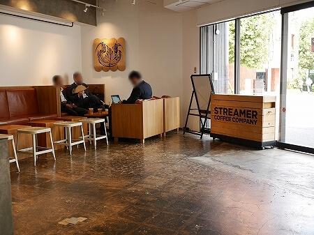 ストリーマー コーヒー カンパニー ラテアート チャンピオン カフェ STREAMER COFFEE COMPANY 茅場町店 店内