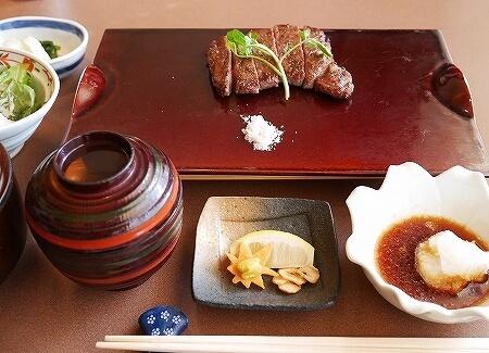 今半万窯 新宿サザンタワー店 炭火焼ステーキ定食 ランチ