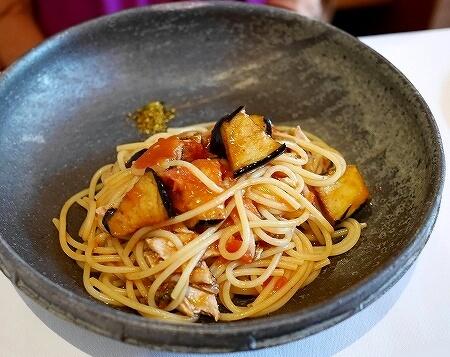 イル・ギオットーネ丸の内 IL GHIOTTONE 東京 平日パスタランチ サンマ トマトソーススパゲッティ