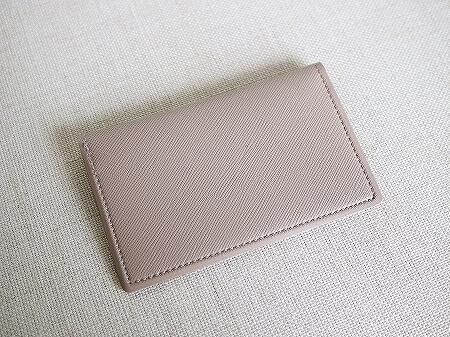 ミニ財布 極小財布 Quitterie カードケース キトリ DELFONICS デルフォニックス グレージュ