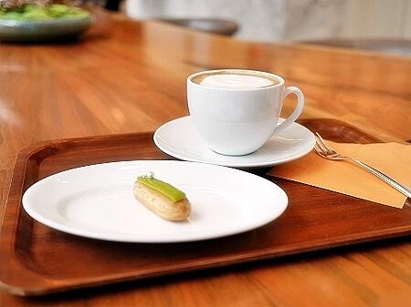 アンダーズ東京 ペストリーショップ ホテル カフェ Pastry Shop ミニエクレア カプチーノ