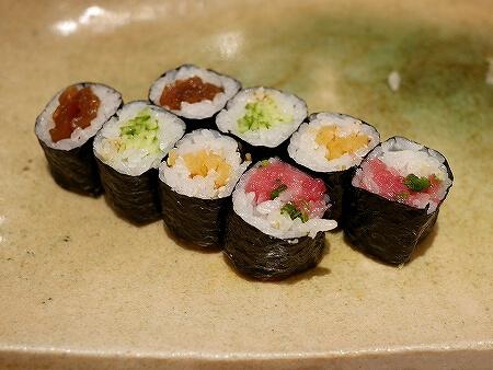銀座 久兵衛 お寿司 にぎり おまかせ 巻物