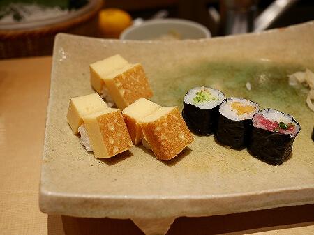 銀座 久兵衛 お寿司 にぎり おまかせ 卵 玉子