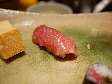 銀座 久兵衛 お寿司 にぎり おまかせ 大トロ