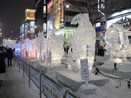 2019年 さっぽろ雪まつり 札幌 雪像 すすきの会場