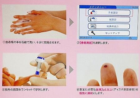 コレステロール 測定 健康チェックステーション 血液検査 日本調剤 銀座泰明薬局 脂質 HbA1C 方法 やり方 手順