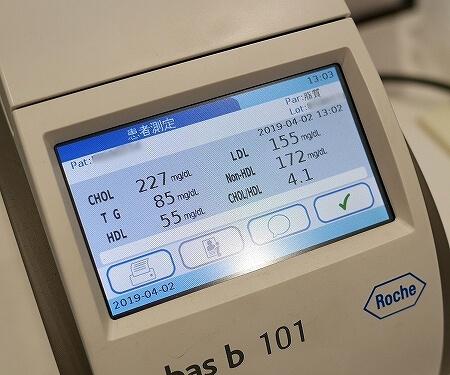 コレステロール 測定 健康チェックステーション 血液検査 日本調剤 銀座泰明薬局 脂質 HbA1C 体験 ブログ