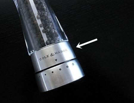 コール&メイソン ダーウェント ペッパーミル おすすめ COLE&MASON H59401G