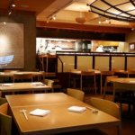 銀座 懐食みちば 道場六三郎 和食 おすすめレストラン 店内 席