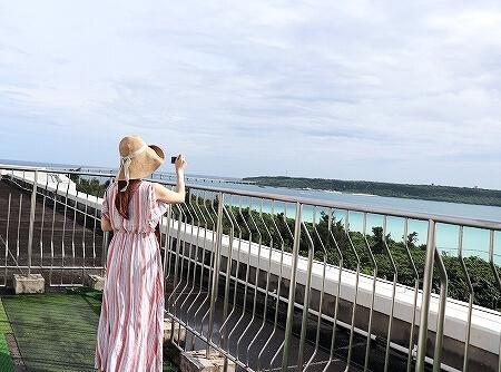 宮古島旅行記 宮古島東急ホテル&リゾーツ スターダストバルコニー オーシャンウィング 屋上 眺め 景色