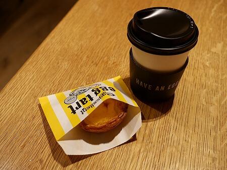 羽田空港 おすすめグルメ エッグセレント・バイツ エッグタルト メルセデスベンツ カフェ