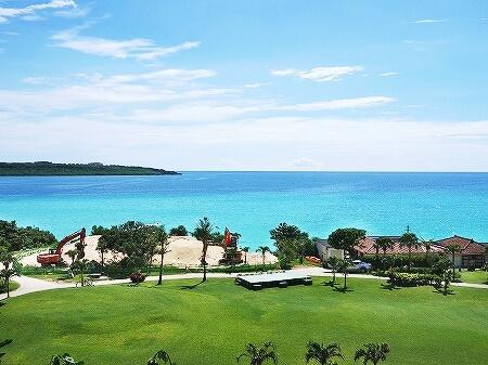宮古島東急ホテル&リゾーツ 室内 オーシャンウィング 宮古島旅行記 ブログ 眺め 眺望 景色 晴れの日