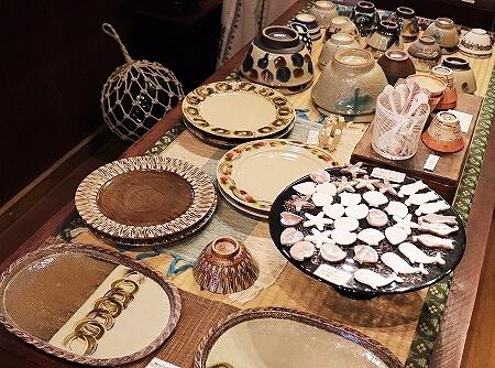 宮古島旅行記 あおぞらパーラー 来間島 おすすめカフェ お土産屋 琉球ザッカ青空 雑貨屋 食器 お皿 箸置き