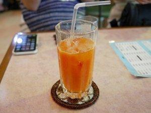宮古島旅行記 宮古空港 宮古島空港 喫茶店 すなかぎ カフェ レストラン メニュー 生ジュース パパイヤジュース