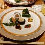 銀座 懐食みちば 道場六三郎 ディナー おすすめレストラン メニュー 夜席 むつみコース 前菜
