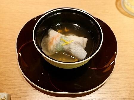 銀座 懐食みちば 道場六三郎 ディナー おすすめレストラン メニュー 夜席 むつみコース 御椀