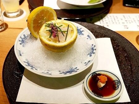 銀座 懐食みちば 道場六三郎 ディナー おすすめレストラン メニュー 夜席 むつみコース 刺身