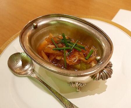銀座 懐食みちば 道場六三郎 ディナー おすすめレストラン メニュー 夜席 むつみコース フカヒレ白菜