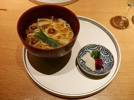 銀座 懐食みちば 道場六三郎 ディナー おすすめレストラン メニュー 夜席 むつみコース カレーうどん