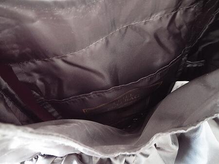 CITTI 3段フリルエコバッグ チッティ5507-3 おすすめ ブログ ブラック 黒