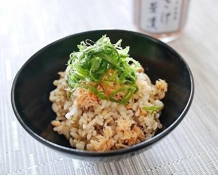 スーパー大麦 バーリーマックス 口コミ 味 感想 ブログ レビュー 栄養 食物繊維 加島屋 さけ茶漬け