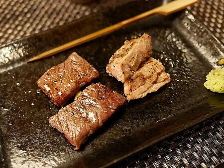 六本木 和牛料理さんだ おすすめ店 ホルモン懐石 牛モツ おいしいお店 焼物 ハラミ 膵臓