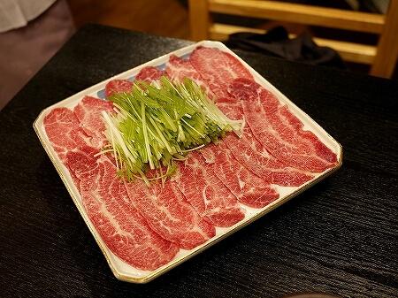 六本木 和牛料理さんだ おすすめ店 ホルモン懐石 牛モツ おいしいお店 ほほ肉のしゃぶしゃぶ