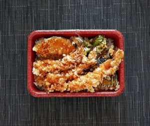 アプリ menu テイクアウト 天ぷら 阿部 銀座本店 海老天丼 お弁当 持ち帰り メニュー