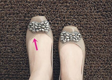 レインシューズ レインパンプス 足指のマメ対策におすすめ!極浅つま先ソックス(シルク5本指くつ下)おひさまのぬくもり 靴下 トゥカバー