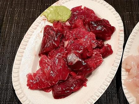 コスパ 月島の居酒屋 魚仁 うおじん 安い 外観 魚屋 刺身 お惣菜 まぐろのほほ肉