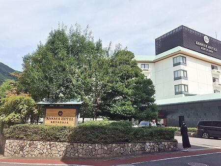 鬼怒川金谷ホテル宿泊記 ラウンジ 鬼怒川温泉旅行記 外観 ブログ
