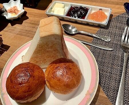 鬼怒川金谷ホテル宿泊記 朝食 和食 洋食 鬼怒川温泉旅行記 パン