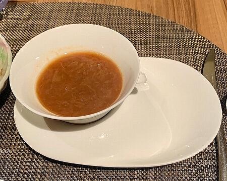 鬼怒川金谷ホテル宿泊記 朝食 和食 洋食 鬼怒川温泉旅行記 オニオンスープ