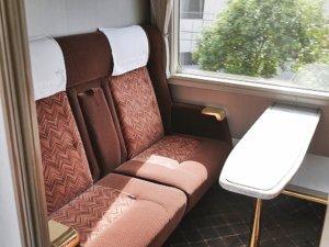 東武鉄道 特急 スペーシア個室 きぬ 室内 おすすめ 鬼怒川温泉旅行記 ブログ コンパートメント
