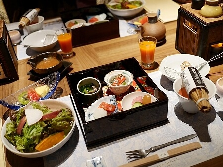 鬼怒川金谷ホテル宿泊記 朝食 和食 洋食 鬼怒川温泉旅行記