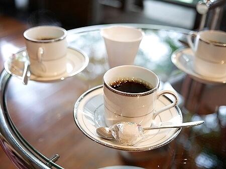 鬼怒川金谷ホテル宿泊記 ラウンジ 鬼怒川温泉旅行記 ブログ コーヒー