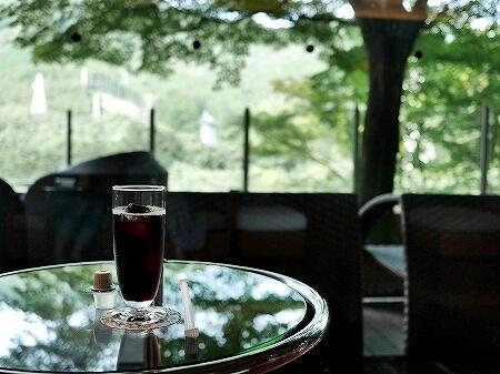 鬼怒川金谷ホテル宿泊記 ラウンジ 鬼怒川温泉旅行記 ブログ アイスコーヒー