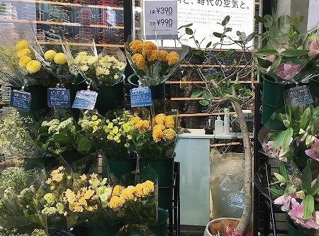 銀座 安い花屋さん お手頃 ユニクロ フラワー UNIQLO TOKYO ユニクロトーキョー 値段