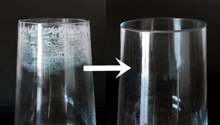 花瓶の頑固な水垢が落ちる! 3Mスポンジ 研磨材 スポンジやすり サンドペーパー 紙やすり 水垢の落とし方