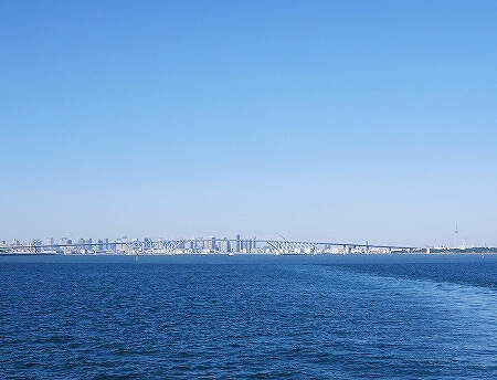 シンフォニークルーズのランチクルーズ 船内の様子 東京湾 展望クロワッサンセット ブログ 口コミ レビュー コロナ後 モデルナ 景色 スカイツリー ゲートブリッジ