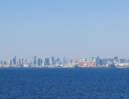 シンフォニークルーズのランチクルーズ 船内の様子 東京湾 展望クロワッサンセット ブログ 口コミ レビュー コロナ後 モデルナ 景色 屋上デッキ レインボーブリッジ 東京タワー