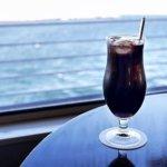 シンフォニークルーズ 東京湾 ランチクルーズ アラカルトメニュー ドリンクメニュー おすすめ カレー 大人のコーヒーフロート ブログ 乗船記 アラベスク 眺め 景色