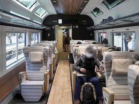 サフィール踊り子 グリーン車 グリーン席 車内 ブログ 口コミ レビュー 乗車記 伊豆熱川旅行記 画像 写真