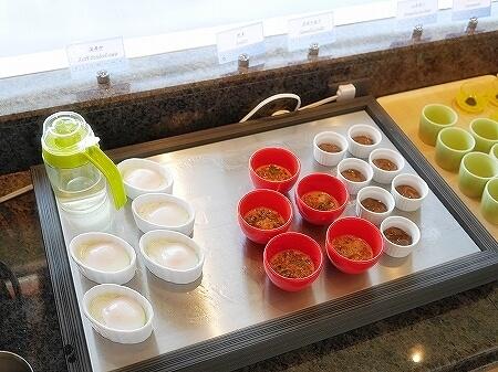 伊豆ホテル リゾート&スパ宿泊記 朝食 レストラン 洋食 和食 ビュッフェ 伊豆熱川旅行記 温泉卵