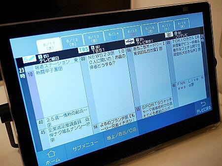 パナソニック お風呂テレビ ポータブルテレビ プライベートビエラ15V型 UN-15CN10-K ブログ 口コミ レビュー 感想 ユーチューブ 番組表