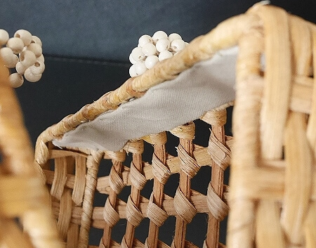 ARANAZ mini bag アラナス ミニバッグ ブログ 口コミ ウッドビーズ ホワイト アラナズ LUNA