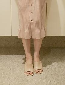 エコー ピンクのミュール ECCO SHAPE SLEEK SANDAL 65 Shoe(ROSE DUST) ブログ 口コミ 着画 レビュー 写真 画像